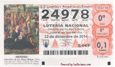 LOTERIA CCD 2014