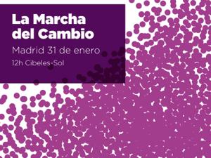 LA MARCHA DEL CAMBIO 31 DE ENERO DE 2015